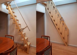 Bcompact Hybrid Stairs and Ladders Give You Back Your Space When They Are Not Needed