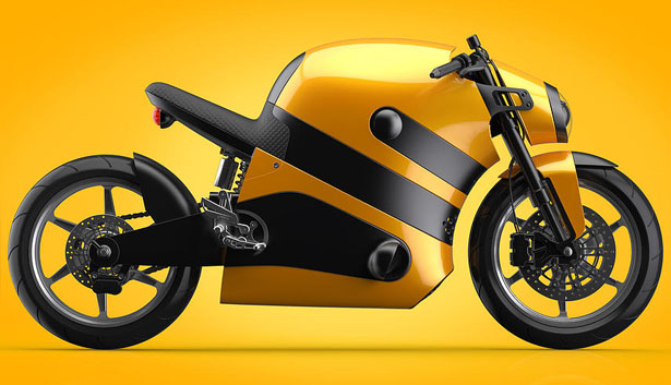 Be-e Concept Electric Motorcycle by Bez Dimitri