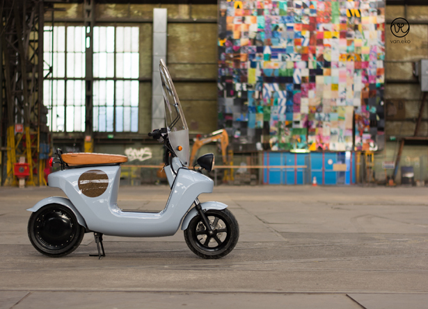 BE.E Electric Scooter by Van.Eko