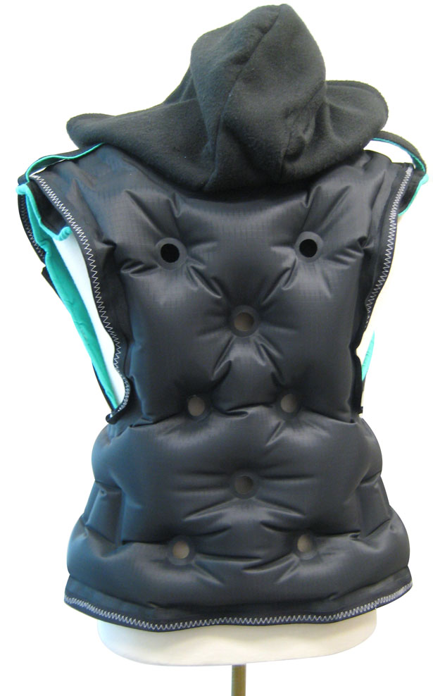 BearHug Inflatable Vest for Deep Pressure Therapy