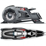Beast : Futuristic Hover Jet Bike Concept Is Powered by Just A Radial Fan