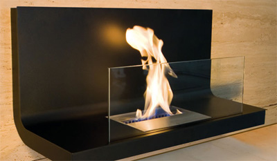 Beautiful Flame is Coming from Your Fireplace