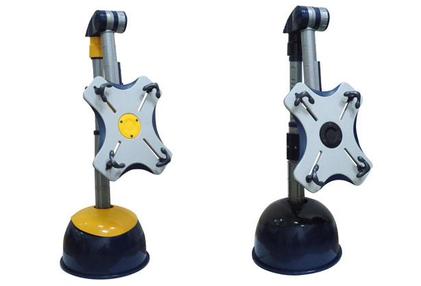 Bee Tower Tablet Floor Stand Design