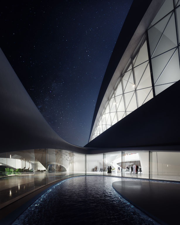 Bee'ah's Sharjah Headquarters by Zaha Hadid Architects