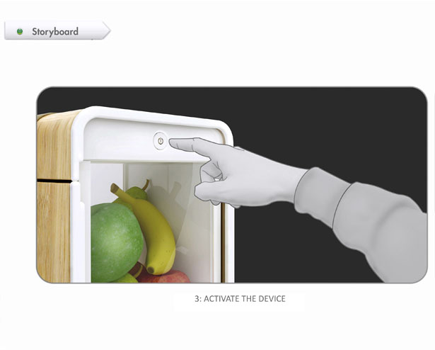 BeFresh Fruit Storage by Davide Pietrasanta