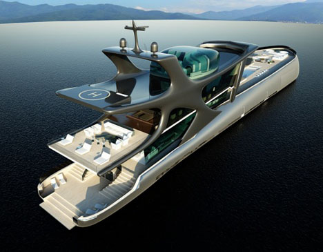 The Beluga Superyacht : Emperor of the Seven Seas