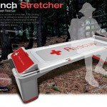 Bench Stretcher for Fast Mountain Recue
