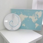 Bent Hands Clock : Read Time in Different Countries Around The World Just From A Single Clock