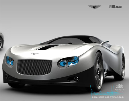 Bentley Ten11 Futuristic Car