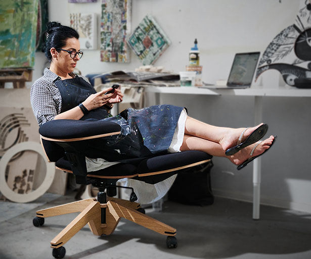 BeYou Chair - Transformable Chair with 10+ Ways You Can Sit