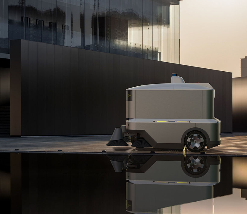 Bijing-OCR - Outdoor Cleaning Robot by Bright Dream Robotics