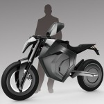 On-Road Motorcycle Design by Fad Liu