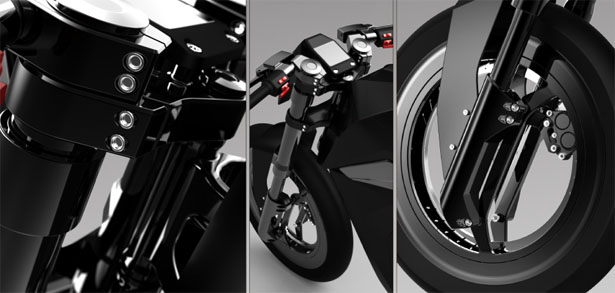Motorcycle Design by Fad Liu