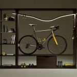 Bike Shelf Tastefully Shows Off Your Bike