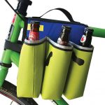 Bike Six Pack Holder Safely Carries Your Beer Bottles and Keep Them Cool as You're Pedaling