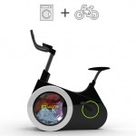Bike Washing Machine : Wash Your Clothes While Riding The Stationary Bike