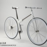Bike 2.0 Next Generation Bicycle With Chainless Transmission