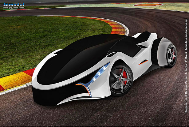 Bimodal Concept Car by Joe Sardo and Federico Bruni