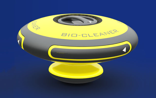 Bio-Cleaner by Hsiang-Han Hsu and Yih-Wenn Luo