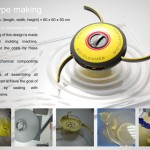BIO-Cleaner : Oil Spill Cleaning System That Utilizes Bacteria to Break Down the Pollutants