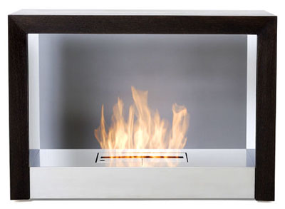 Modern Fireplace : Bioethanol Fireplace from Vulcania