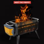 BioLite FirePit Delivers Hypnotic Fire without The Smoke