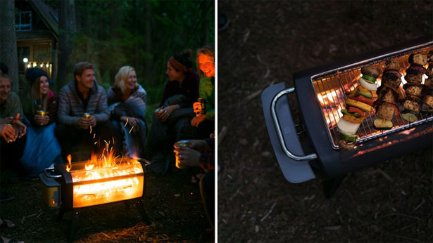BioLite FirePit: See Fire, Not Smoke