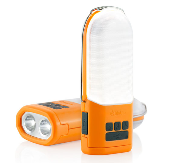 BioLite NanoGrid Rechargeable Lighting and Power Storage