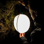 Biolite SiteLight XL Pop Light : Collapsible Moon-Like Lantern