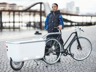 Biomega EIN e-Powered Cycle Trailer with Universal Latching System