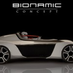 Bionamic Single Seater Car Concept Features Two Joysticks Instead of Steering Wheel