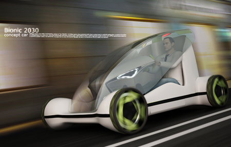 Futuristic Bionic Transportation for The Year 2030
