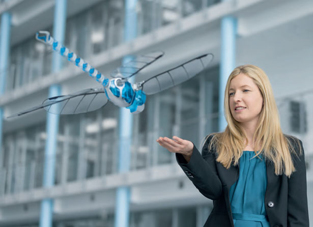 BionicOpter Robotic Dragonfly by Festo