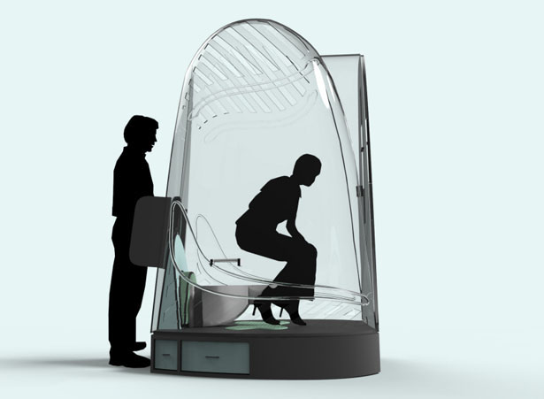 Biopod is A Redesigned Port-A-Potty to Provide You with Better Hygiene and Comfort