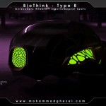 BioThink Futuristic Vehicle for Future Mega-Cities