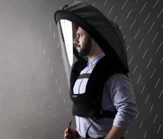 BioVYZR 1.0 Personal Protection Gear Concept with Built-In Air Filtration System