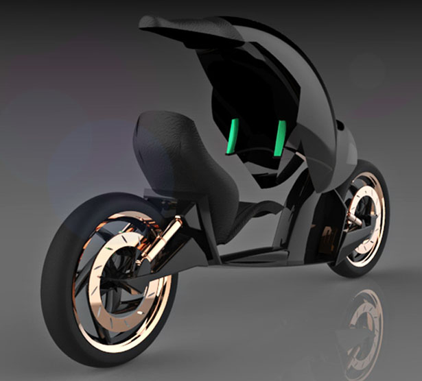Biran Motorcycle Concept : Enjoy The Ride in Two Different Modes