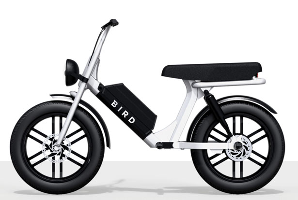 Bird Cruiser Micro Mobility as Part of Shared e-Scooters Program