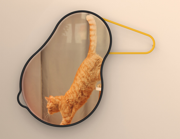 Birdie Rotational Mirror by MMUA Studio