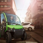 Birò Personal Electric Vehicle with Removable Battery
