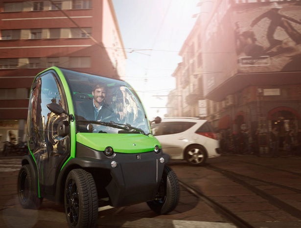 Birò Personal Electric Vehicle with Removable Battery by Estrima
