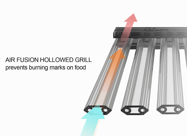 Bison Rolling Grill - Portable Grill