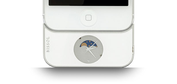 Bissol For iPhone 5 - Precision Mobile Timepiece