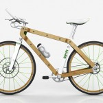 BKR Wood Frame Bicycle by Pietro Russomanno