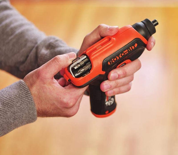 Black & Decker BDCS50C 4V Roto-BIT Electric Storage Screwdriver
