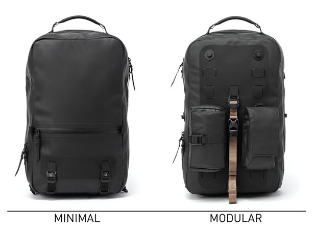 Black Ember Citadel Modular Backpacks by Black Ember
