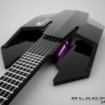 Black Haze Guitar by Andres Lüer Solorza