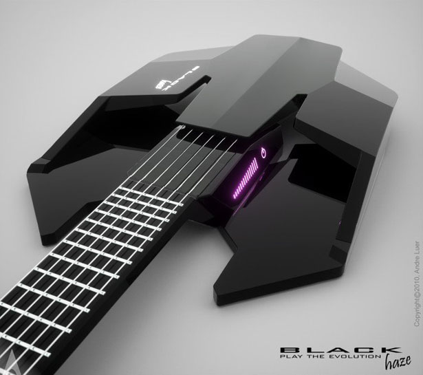 Black Haze Guitar by Andres Luer Solorza