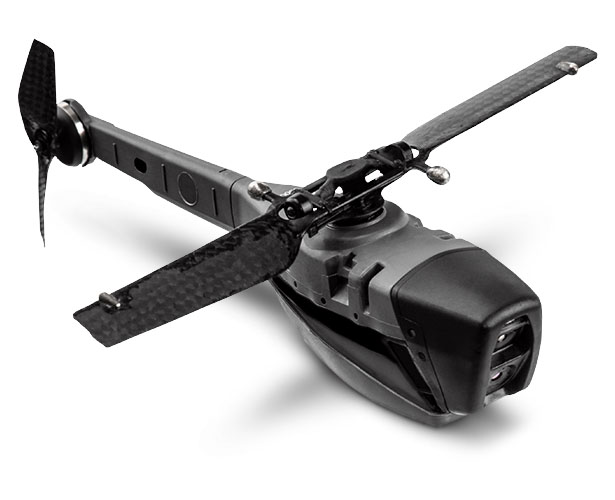FLIR Black Hornet - Airborne Personal Reconnaissance System (PRS) for Effective Assessment of Its Surrounding