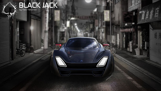 Black Jack GT Car by Yaroslav Yakovlev